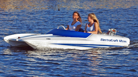 electric boat by ElectraCraft